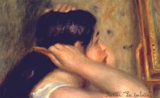 Renoir La Toilette