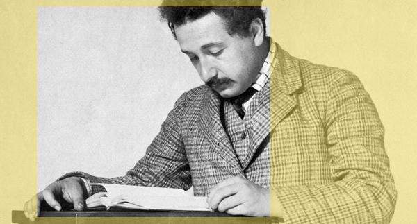 Cites Albert Einstein
